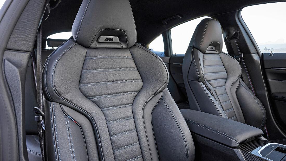 BMW i4 M50, Interieur