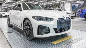 BMW i4 Produktion Werk München Elektroauto