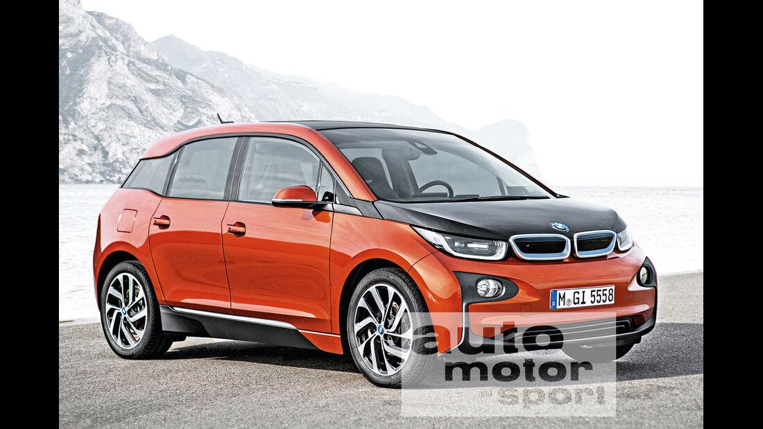 BMW i5, Frontansicht