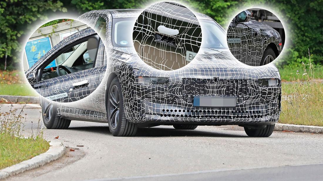 BMW i7 Erlkönig Highlights