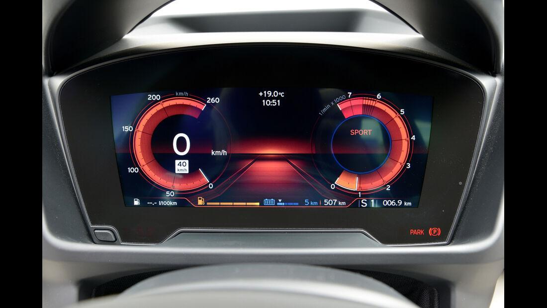 BMW i8, Anzeige, Display