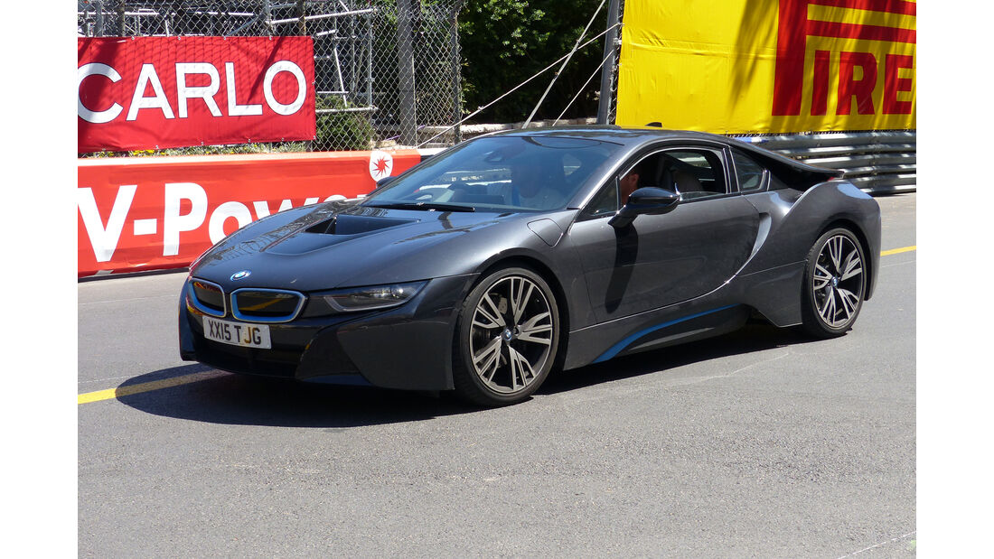 BMW i8 -  Carspotting - Formel 1 - GP Monaco 2015