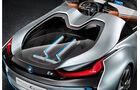 BMW i8 Concept Spyder, Heckklappe