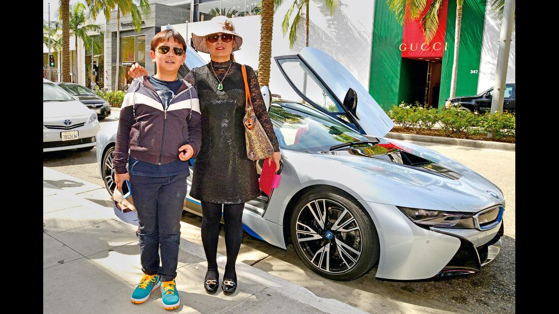 BMW i8, Dell und Icy Rodrigo