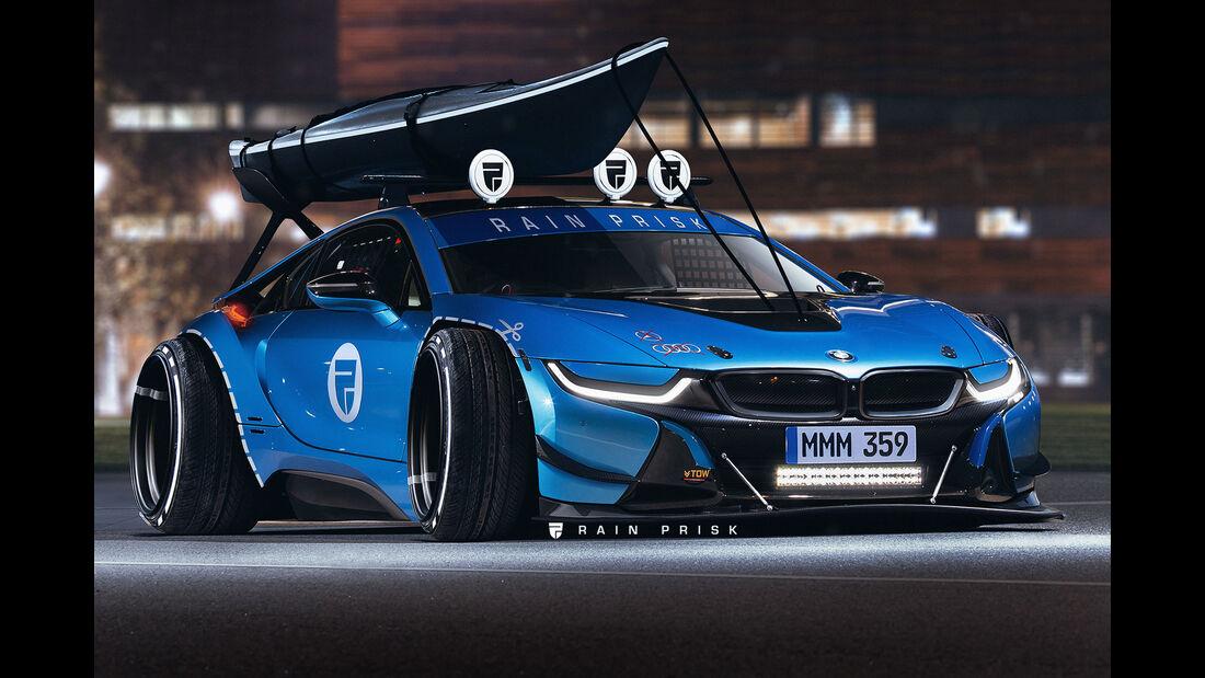 BMW i8 - Design-Konzept - Grafikkünstler Rain Prisk