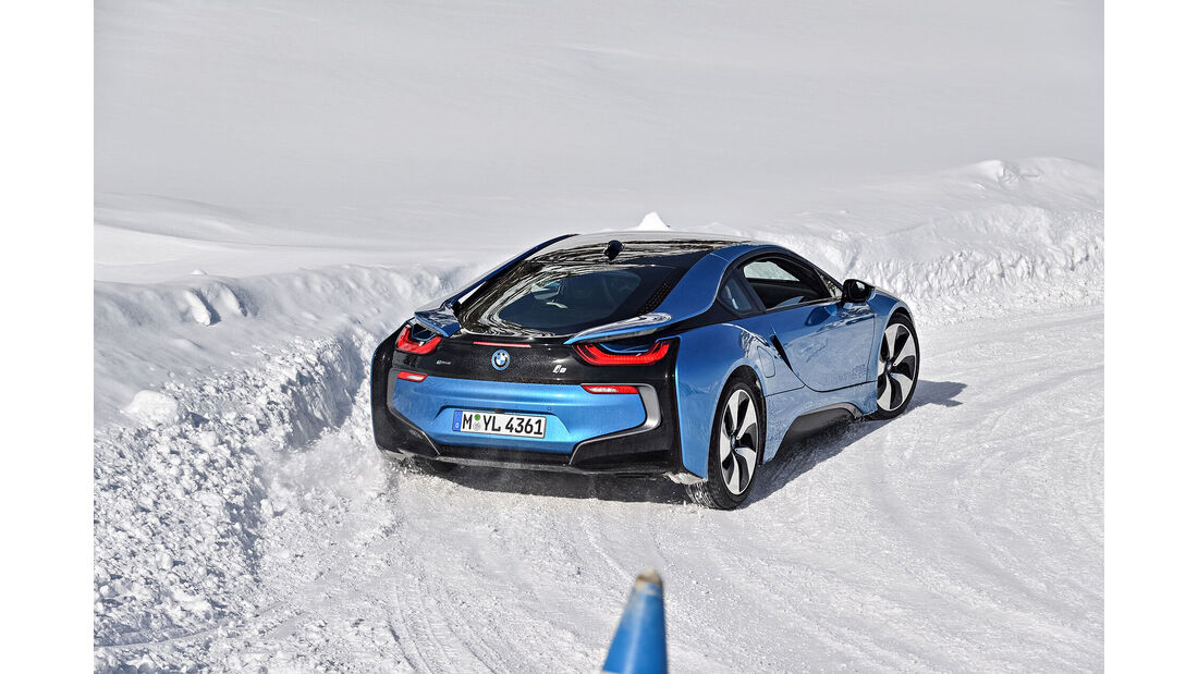 BMW i8 Driving Experience