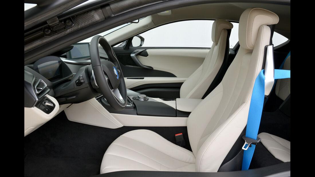 BMW i8, Fahrersitz, Interieur