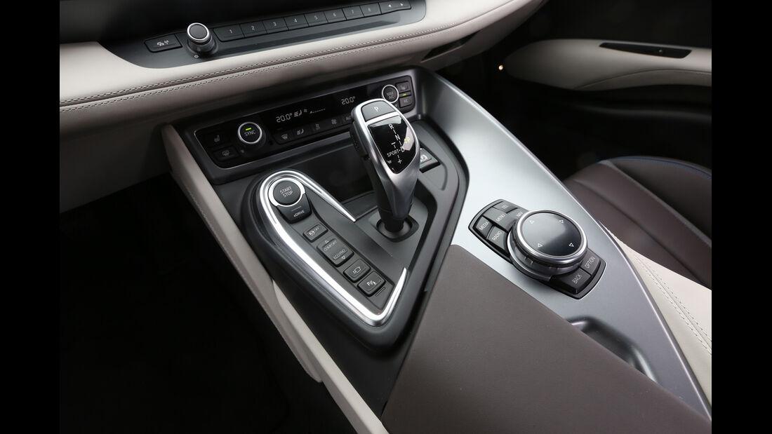 BMW i8, Getriebewahlhebel