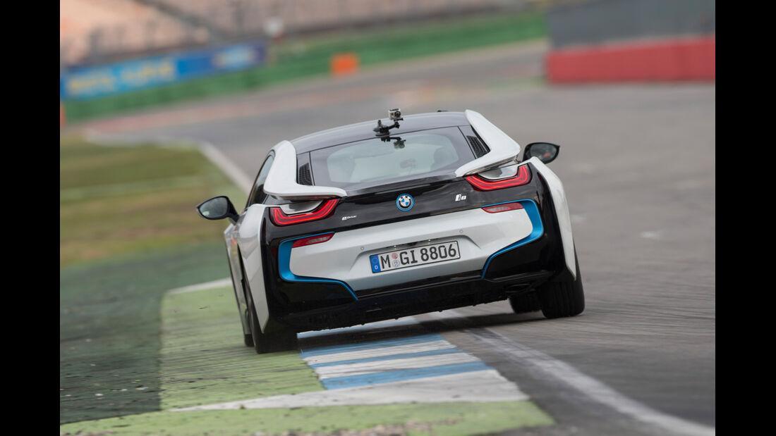 BMW i8, Heckansicht