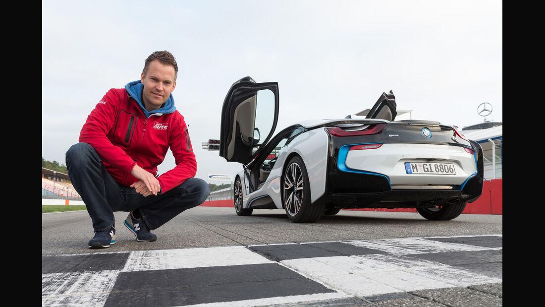 BMW i8, Heckansicht, Christian Gebhardt