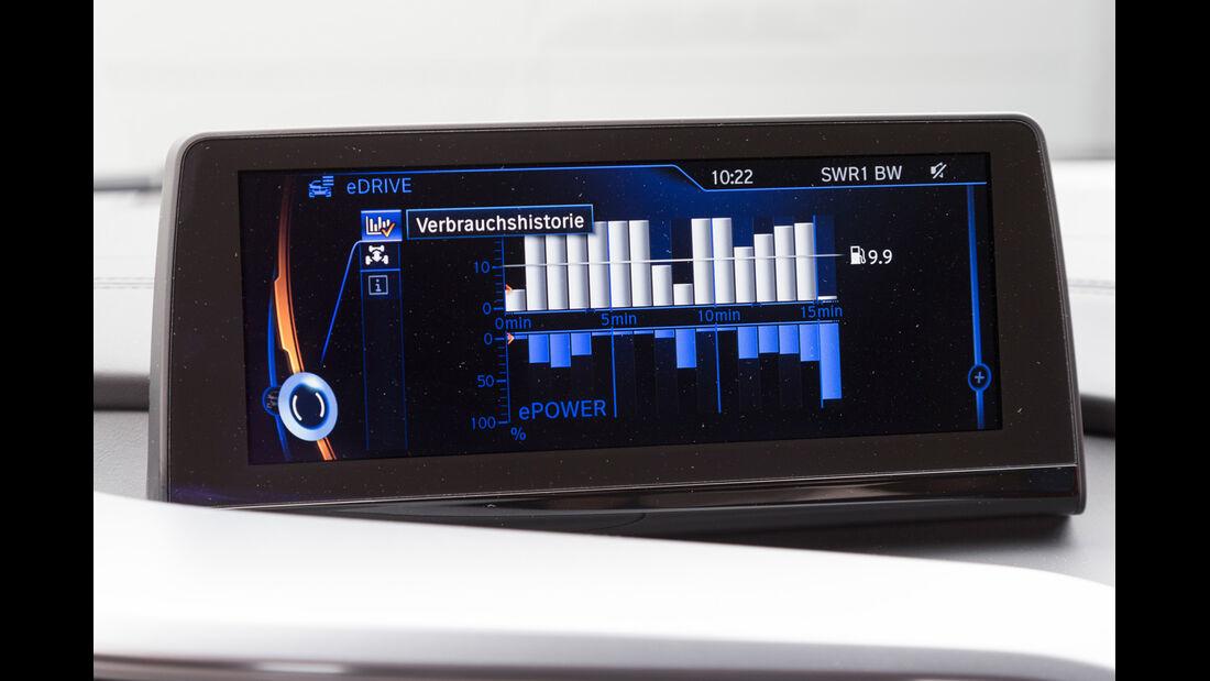 BMW i8, Infotainment, Display