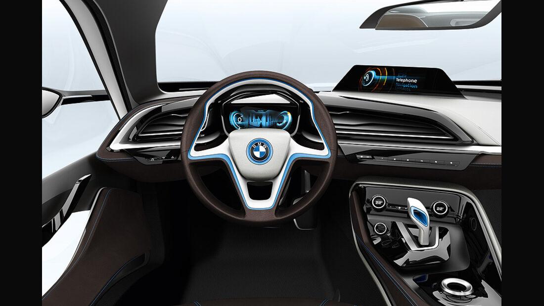 BMW i8, Innenraum