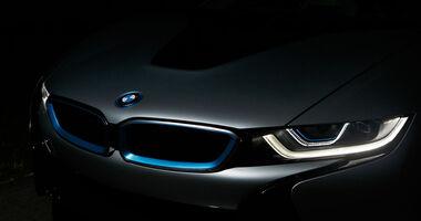 BMW i8 Laserlicht, Scheinwerfer