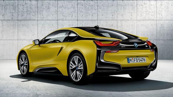 BMW i8 Protonic Frozen Yellow Edition