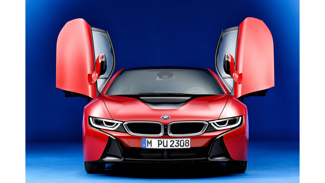 BMW i8 Protonic Red Edition SPERRFRIST 12.2.2016