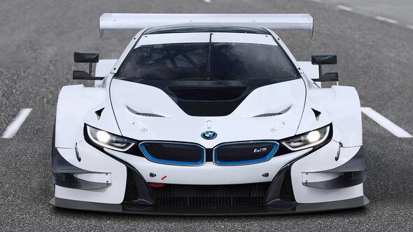 BMW i8 - Rennversion - Photoshop