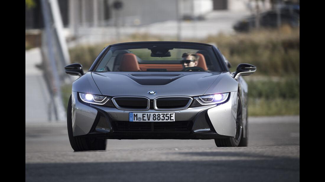 BMW i8 Roadster, Exterieur