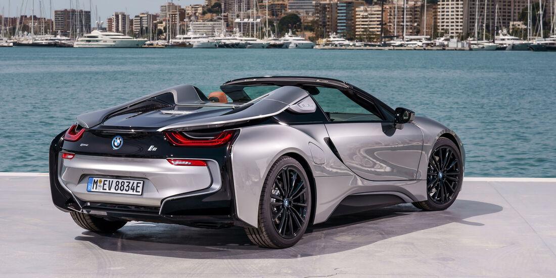 BMW i8 Roadster Fahrbericht 2018