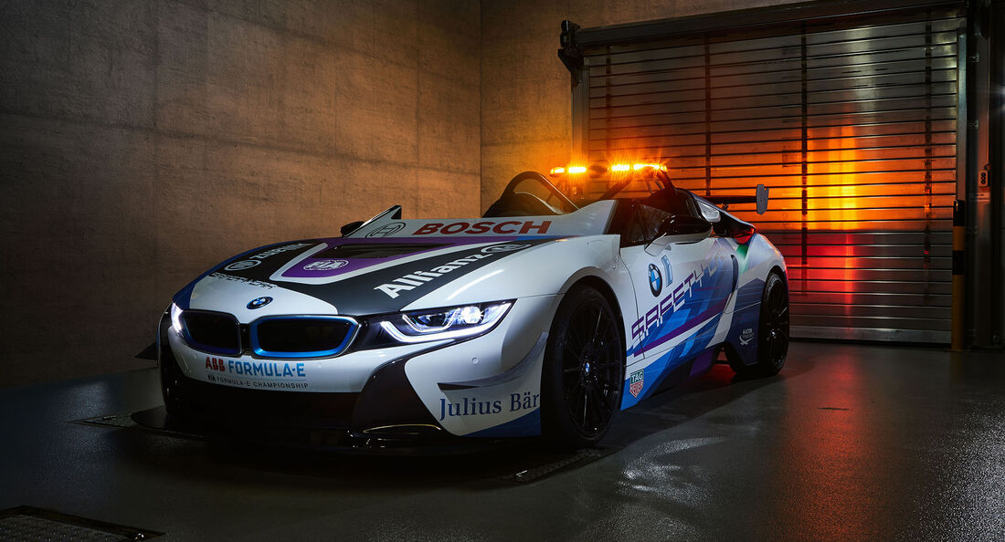 BMW i8 Roadster Formel E Safetycar