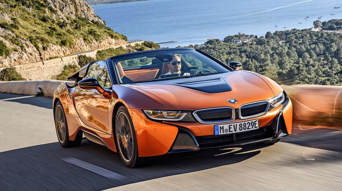 BMW i8 Roadster - Serie - Cabrios ueber 150000 Euro - sport auto Award 2019