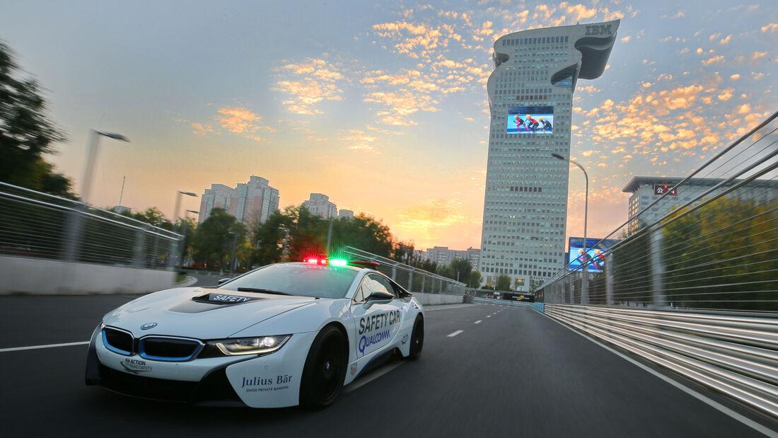 BMW i8 Safety Car, Frontansicht