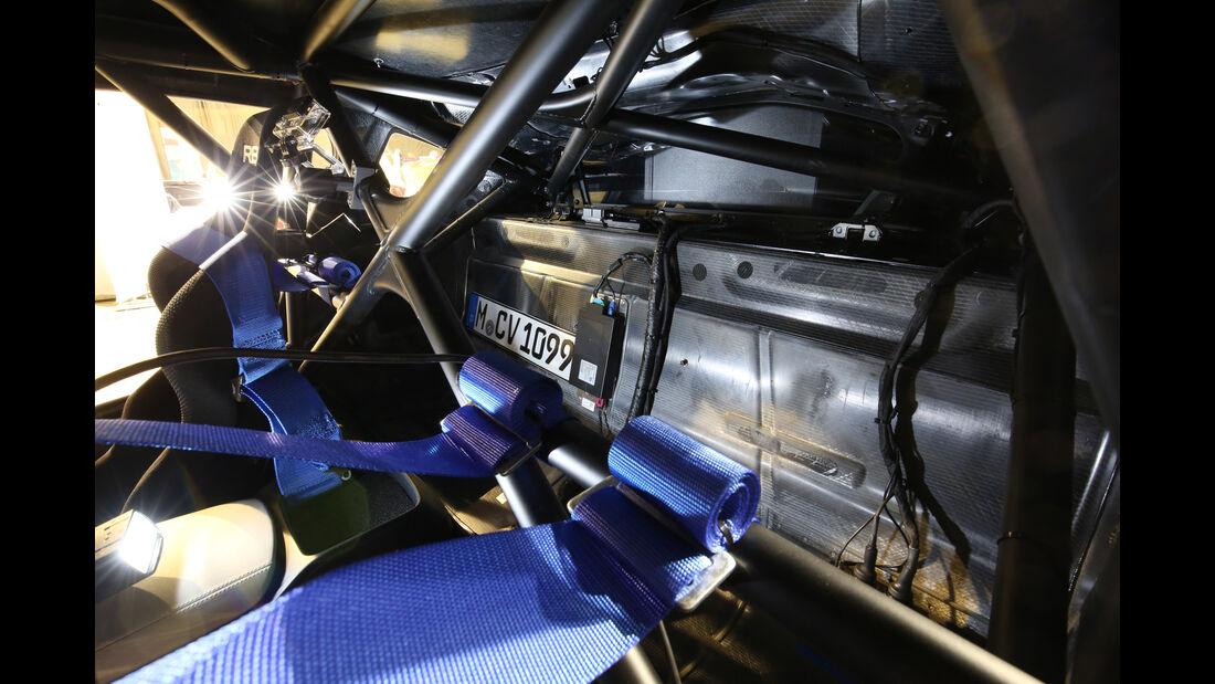 BMW i8 Safety Car, Gitterrahmen