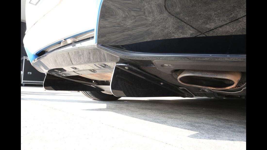 BMW i8 Safety Car, Unterboden, Heck