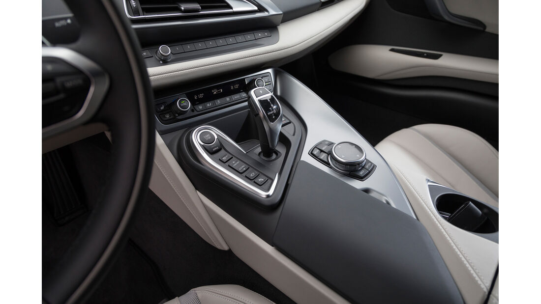 BMW i8, Schalthebel