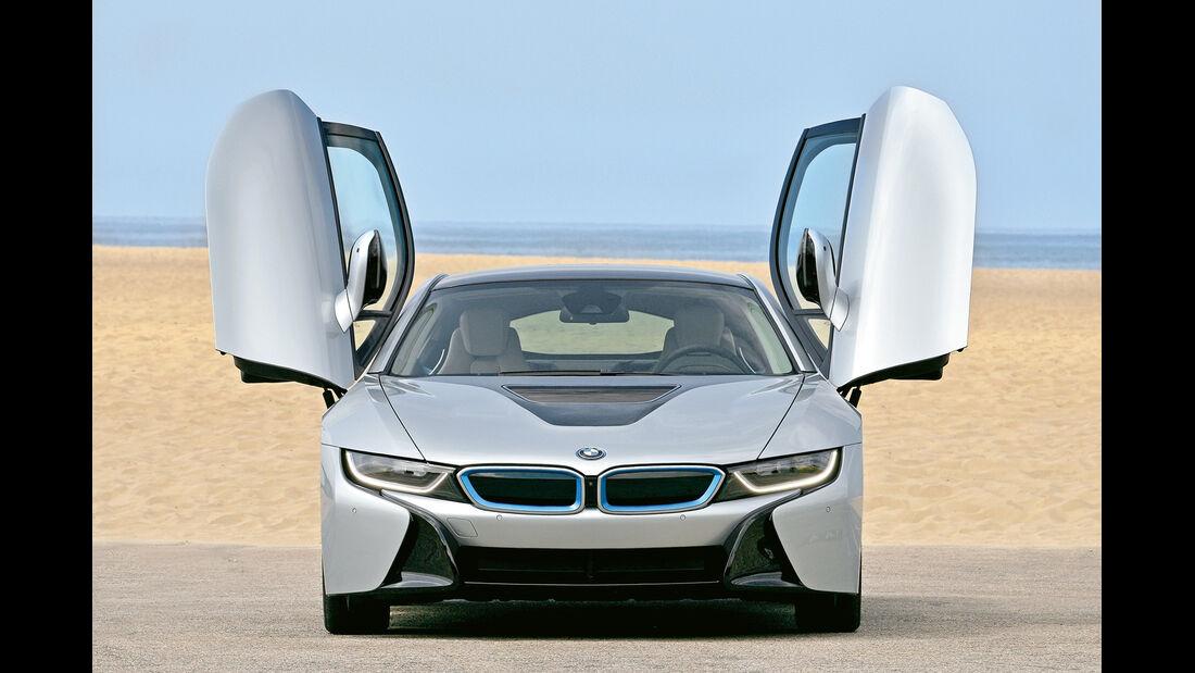 BMW i8, Scherentüren, Türen offen