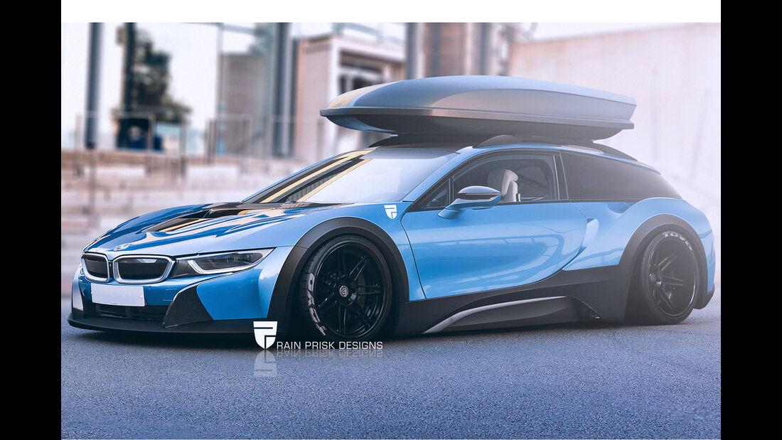 BMW i8 Shooting Brake - Fantasie-Auto