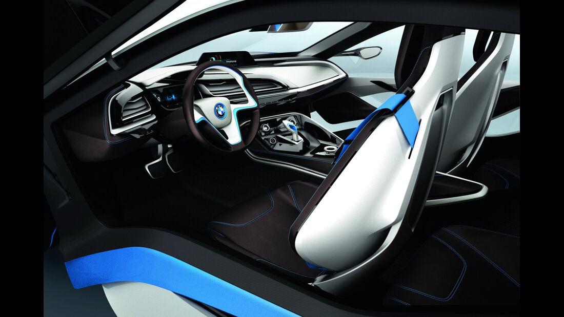 BMW i8, Sitze