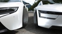 BMW i8, VW XL1, Frontscheinwerfer