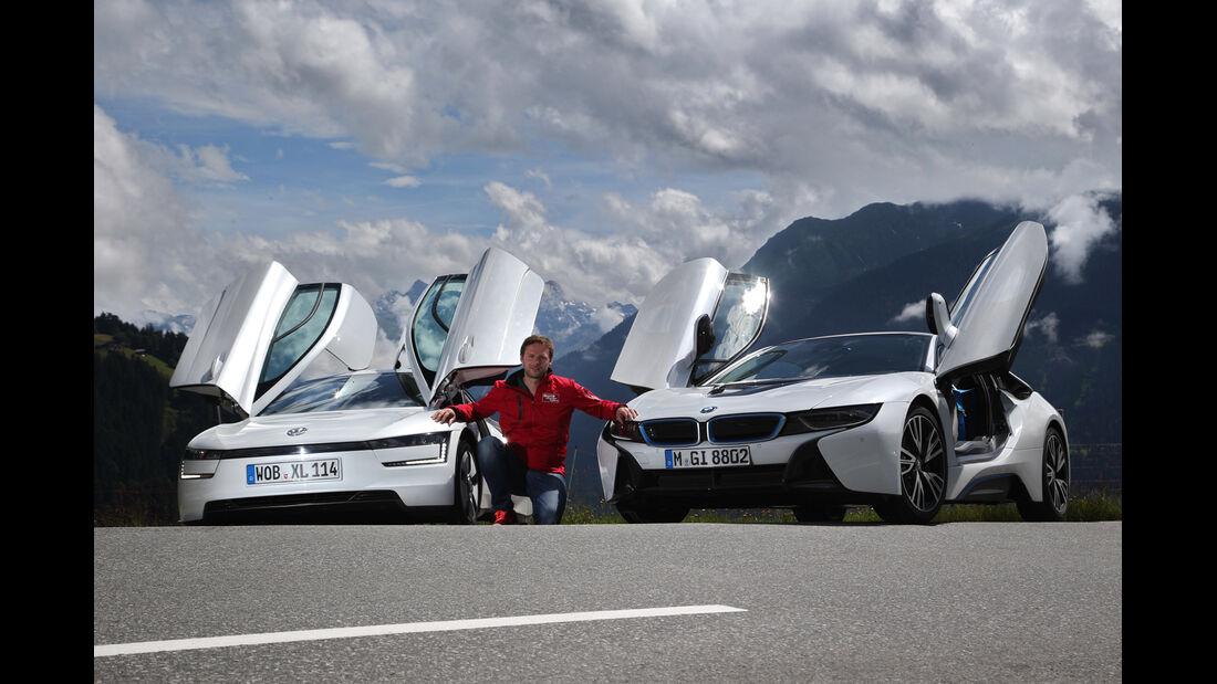 BMW i8, VW XL1, Scherentüren