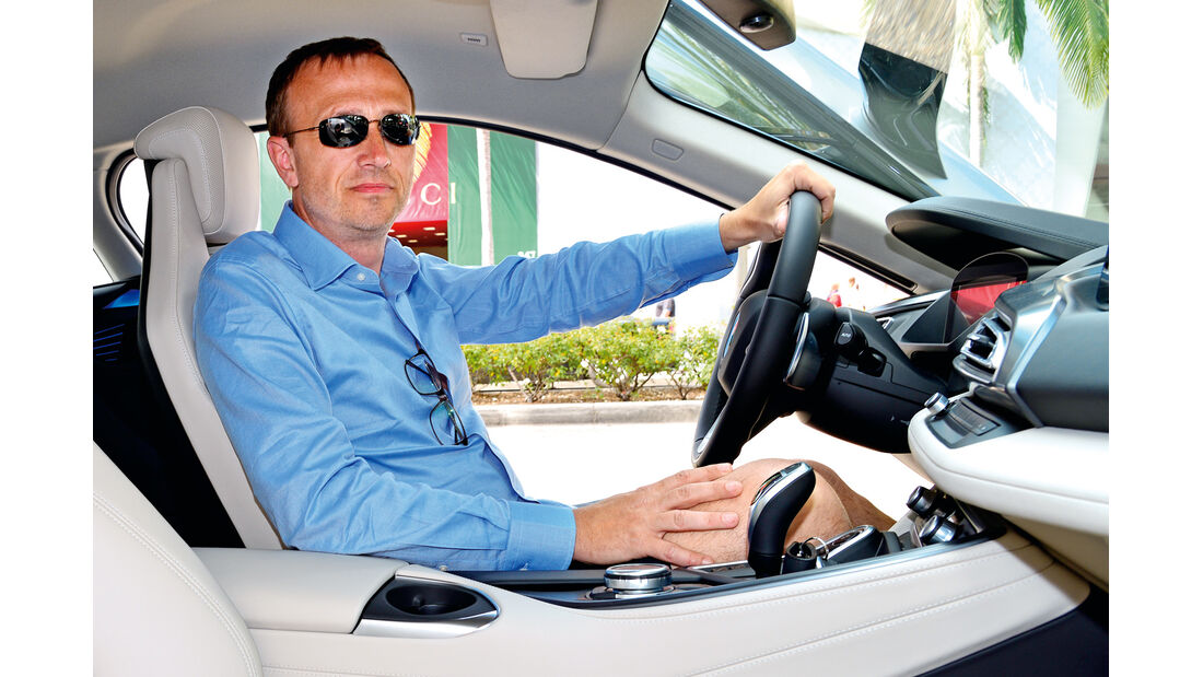 BMW i8, Vincent Jacques