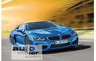BMW i9, Frontansicht