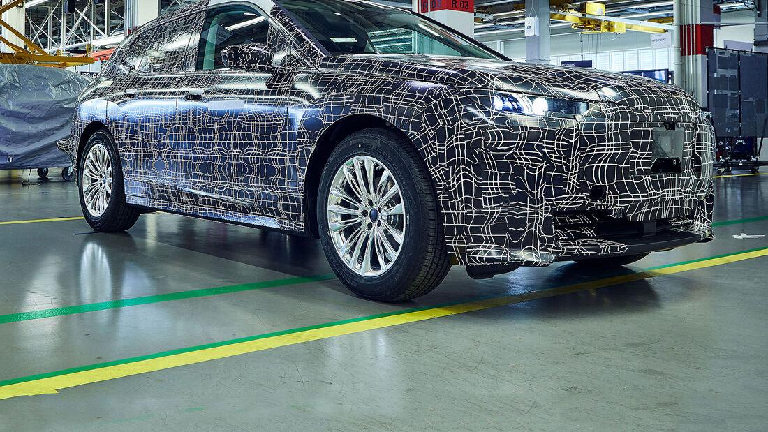 BMW iNext Prototyp