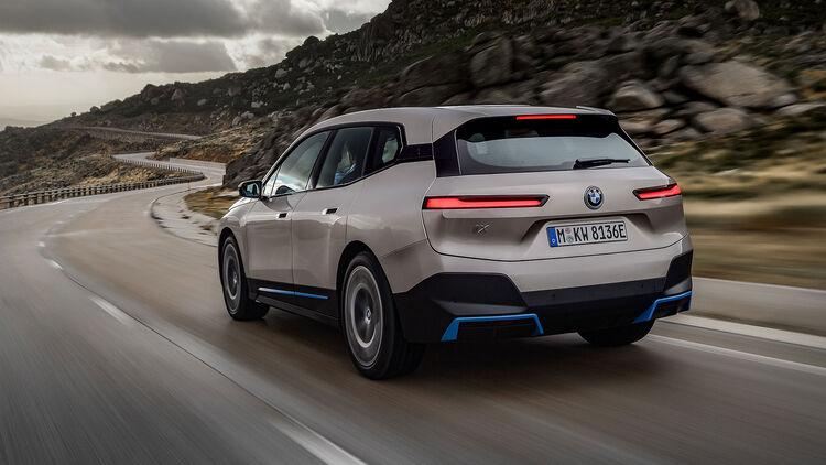 Bmw Ix 2021 Technik Und Marktstart Des E Suv Auto Motor Und Sport