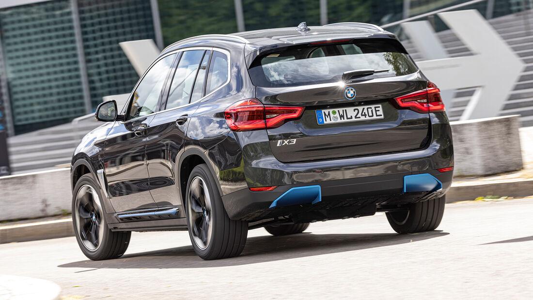 BMW iX3, Exterieur