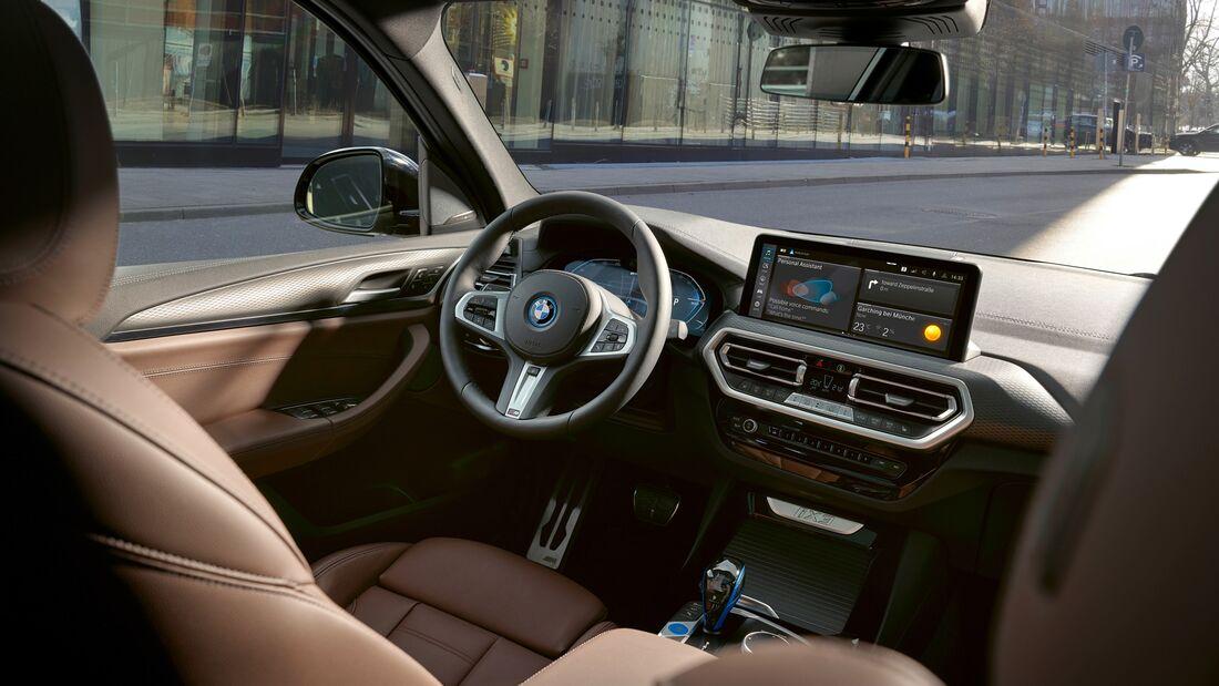 BMW iX3 Facelift 2021