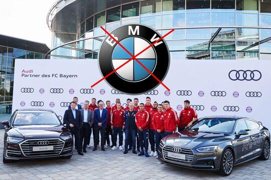 BMW kein Partner beim FC Bayern