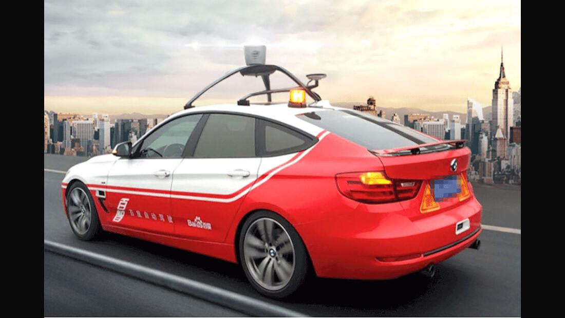 BMW und Baidu autonomes fahren