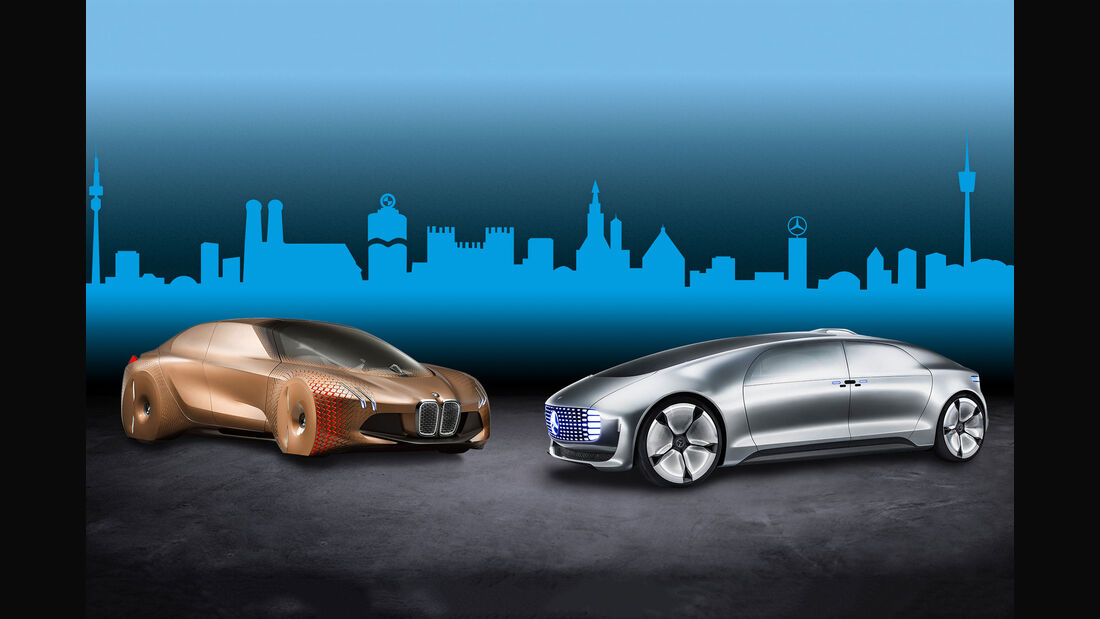 BMW und Mercedes Kooperation autonomes fahren