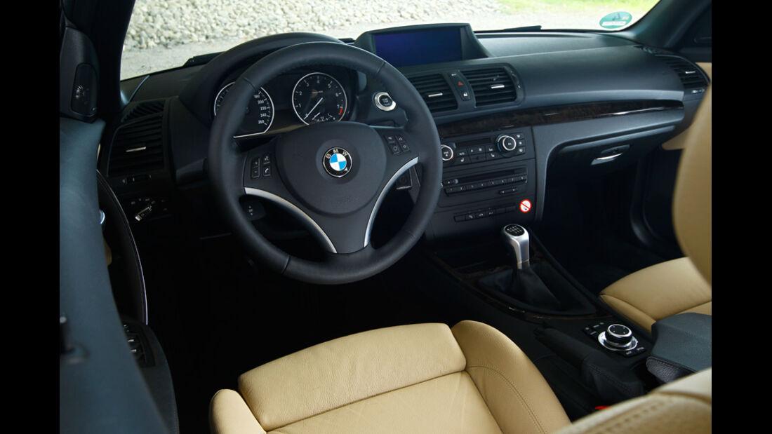 BMW125i Cabriolet, Cockpit