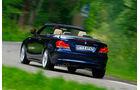 BMW125i Cabriolet, Heck