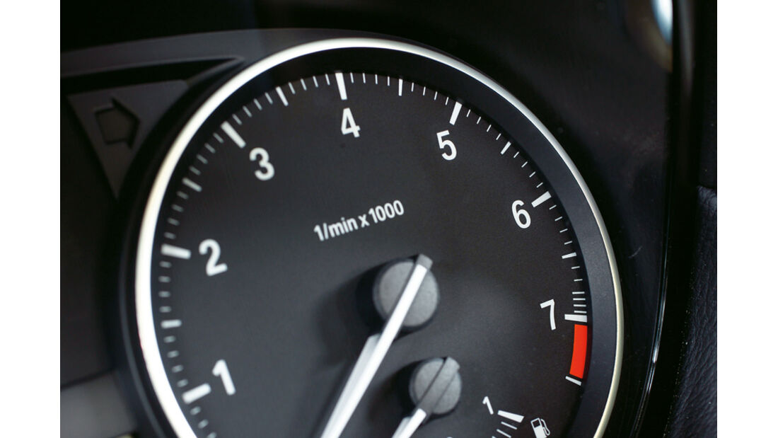 BMW125i Cabriolet, Rundinstrument