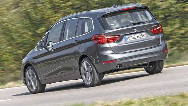 BMW218d Gran Tourer, Exterieur