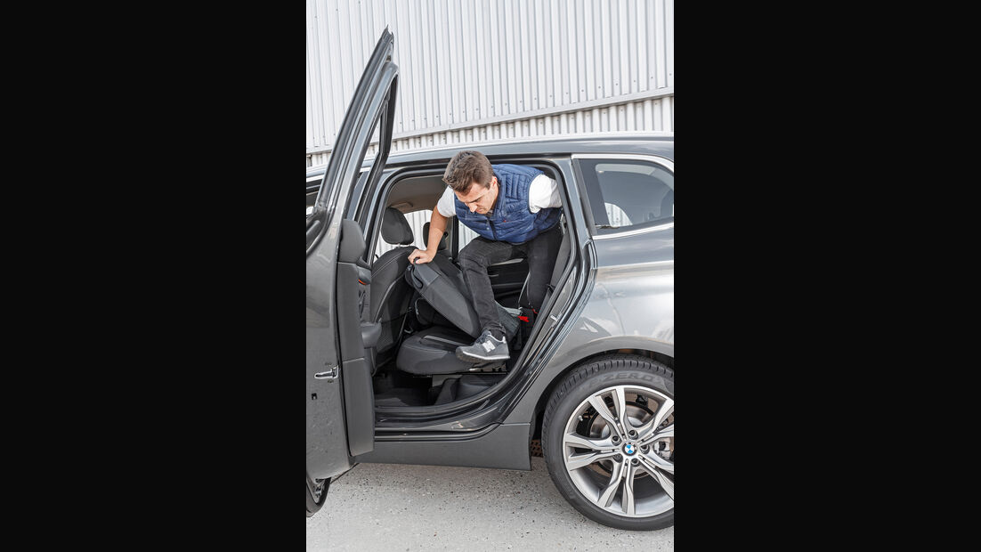 BMW218d Gran Tourer, Interieur