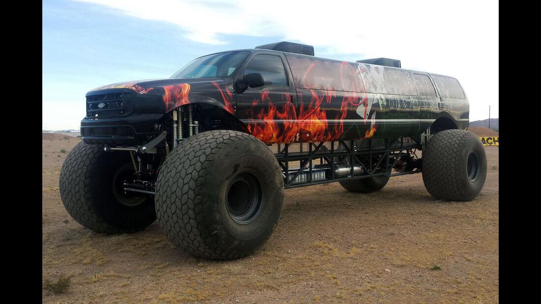 BTR Sin City Hustler Monster Truck