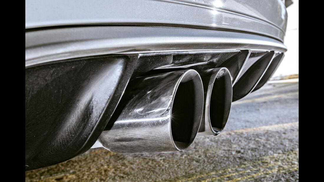 BTRS-AUDI RS 3 Sportback, Auspuff, Endrohre