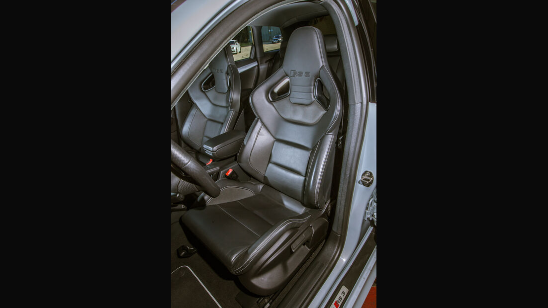 BTRS-AUDI RS 3 Sportback, Fahrersitz